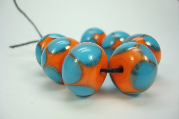 Stitching with large beads