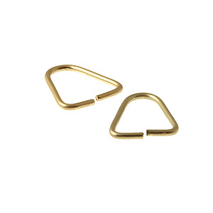 Different shaped jump rings