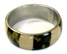 Wholesale bangles jewelry with corn and cloth inlay