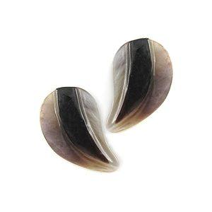 hammershell half heart design wholesale pendant