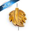 Antique bone carved leaf shape wholesale