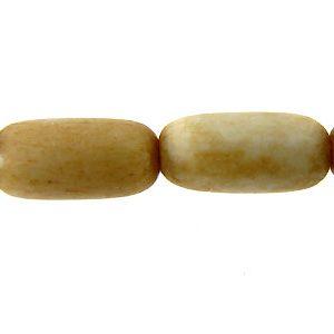 Tea-dyed bone oval 12x5mm wholesale beads