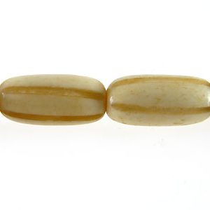 Tea-dyed bone carved oval wholesale beads