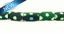 Dyed bone tube green wholesale beads