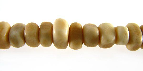 tea-dyed bone nuggets 5mm wholesale beads