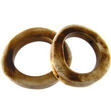 wholesale Antique bone ring side drilled