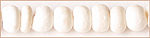 Coco beads 2-3mm bleached white wholesale beads