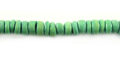 Coco round 4-5mm green wholesale beads