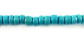 Coco round 4-5mm turquoise wholesale beads