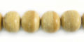 White coco round 10mm wholesale beads