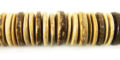 15mm discs tiger coco wholesale beads