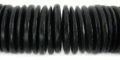 Black coco pukalet 20mm wholesale beads