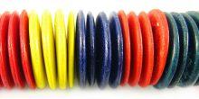 Coco pukalet multicolor 20mm wholesale beads