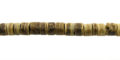 """Coco heishi 4-5mm tiger, 24"""" long wholesale beads"""