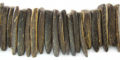 Coco shell tusk-natural brown wholesale beads