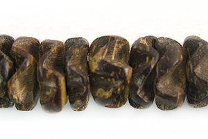 Coco flower 10mm natural brown wholesale beads