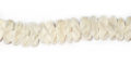 Coco flower 10mm bleached white wholesale beads