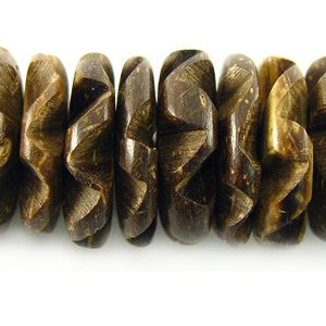 Coco flower 15mm natural brown wholesale beads