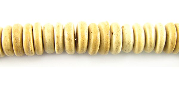 Unbleached coco pukalet wholesale beads