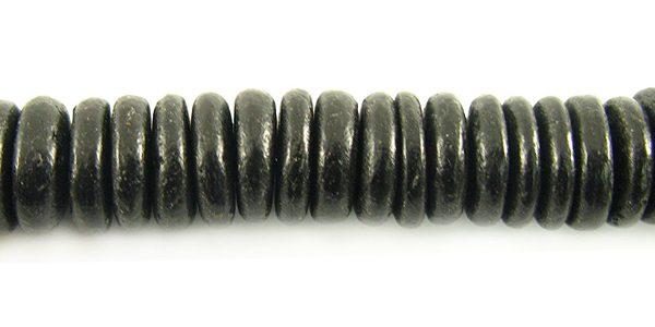 Coco wheels 10mm black wholesale beads