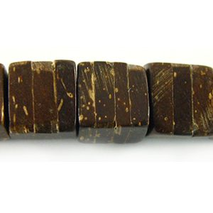 Coco Dice Natural wholesale beads