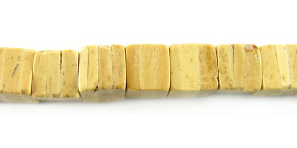 Coco cube natural tan wholesale beads