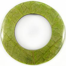 Coco back donut w/ Cab-Caban leaf 70mm wholesale pendants