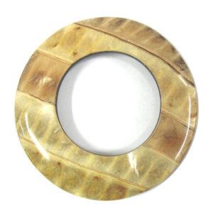 coco 70mm donut ipil-ipil inlay wholesale pendants