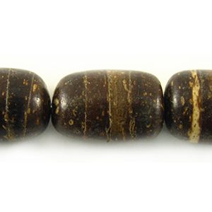 8 mm coco oval natural wholesale beads