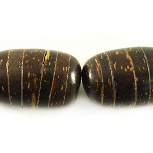 Natural brown coco oval 10mm wholesale beads