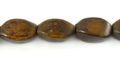 Burnt horn twist wholesale beads