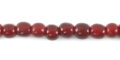 Red horn round 4mm wholesale beads