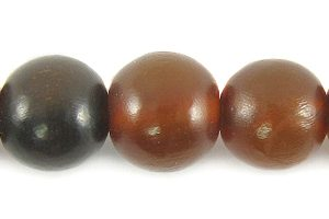 Golden horn round 10mm wholesale beads