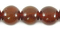 Golden horn round 12mm wholesale beads