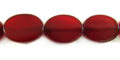 Red Horn Oval wholesale beads