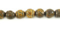 Burnt Horn Carved wholesale beads