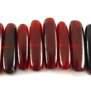 Red horn sticks wholesale beads