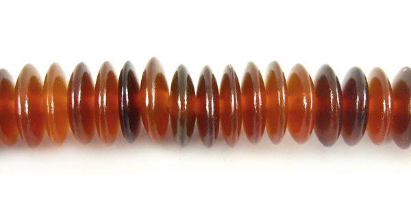 Golden horn saucer 10mm wholesale beads