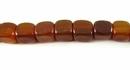 Golden horn dice 7mm wholesale beads