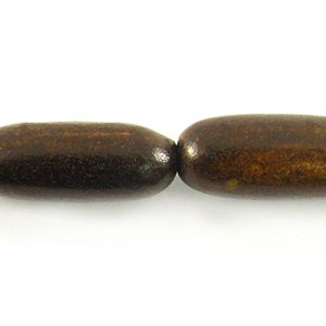 5MM burnt oval horn wholesale beads