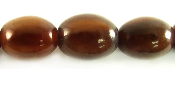 Golden horn oval 13x16mm wholesale beads