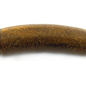 Limited stock- Burnt horn bent tube wholesale beads