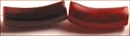 Red horn bent tube wholesale beads