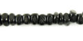 Black horn nuggets wholesale beads