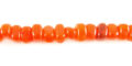 Horn nuggets orange wholesale beads