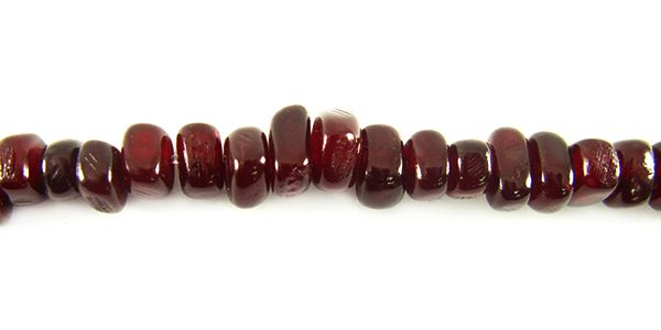 Red horn nuggets wholesale beads