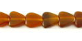 Golden horn heart 10mm wholesale beads