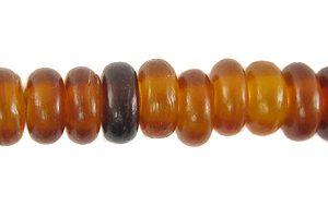 Golden Horn Pukalet 7mm wholesale beads