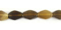 Greyhorn flat bicone natural wholesale beads
