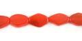 Gyhorn Flat Bicone Orange wholesale beads